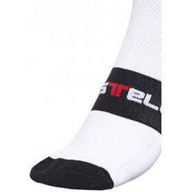 Castelli Rosso Corsa 9 Socks white